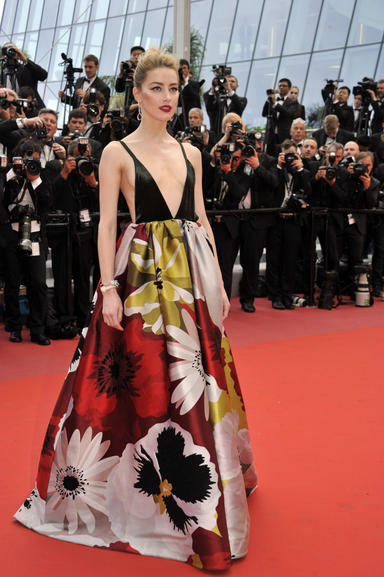 Amber Heard Sorry Angel Premiere At Cannes Film Festival