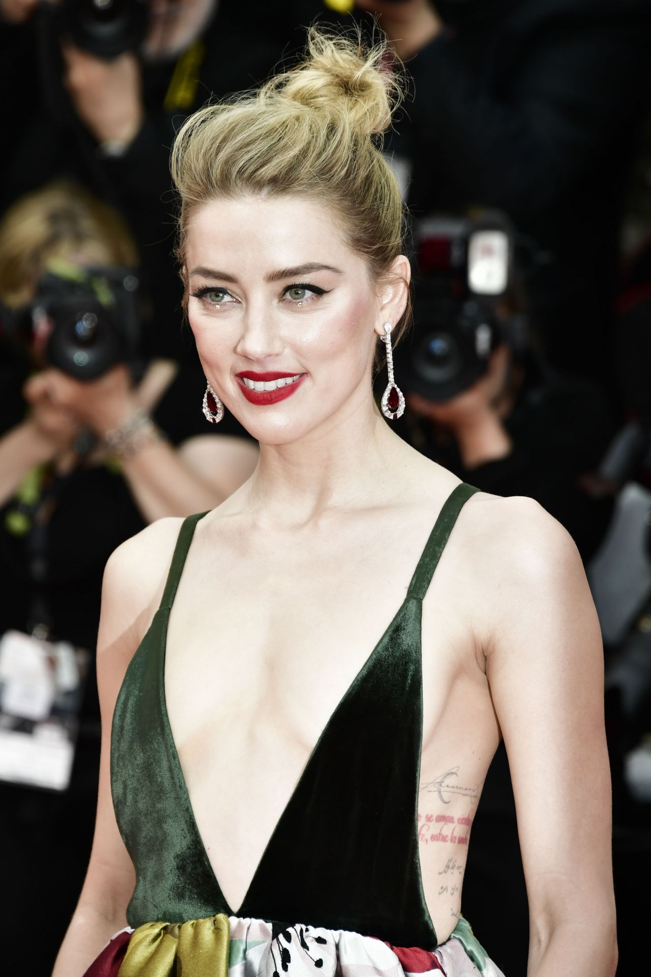 """Amber Heard – """"Sorry Angel"""" Premiere at Cannes Film ..."""