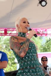 Amber Rose - Memorial Day Weekend Go Pool Dayclub in Las Vegas 05/26/2018