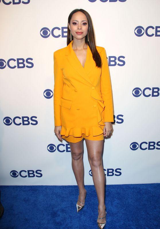 Amber Stevens West – CBS Upfront Presentation in New York 05/16/2018