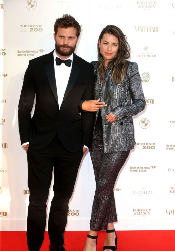 Amelia Warner and Jamie Dornan – The Old Vic Bicentenary Ball 2018