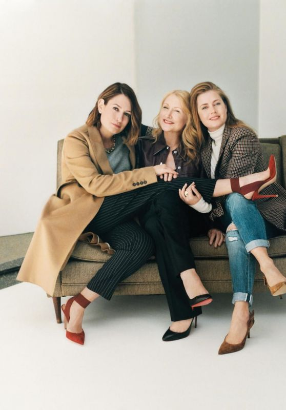 Amy Adams, Gillian Flynn and Patricia Clarkson - WSJ Magazine May 2018 Photoshoot