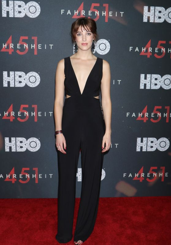 """Amy Louise Wilson – """"Fahrenheit 451"""" Premiere in NYC"""
