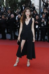"""Anais Demoustier - """"Sink or Swim"""" Red Carpet in Cannes"""