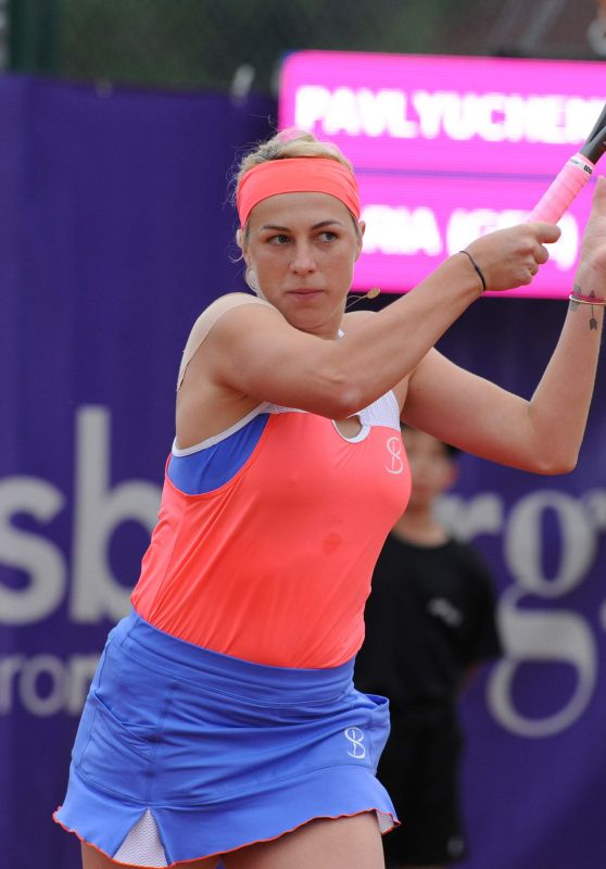 Anastasia Pavlyuchenkova – Internationaux de Strasbourg Tennis Tournament 05/21/2018