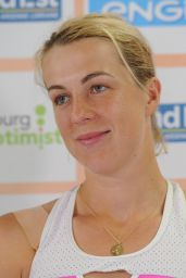 Anastasia Pavlyuchenkova - Internationaux de Tennis de Strasbourg Press Conference 05/26/2018