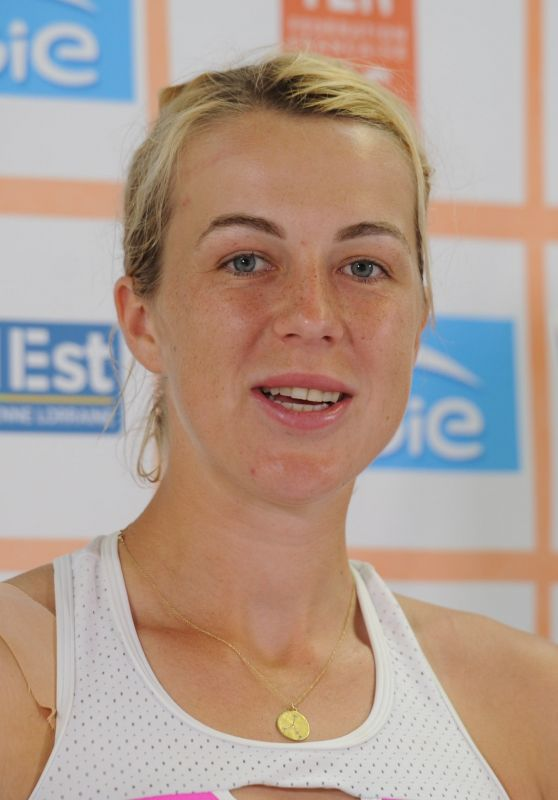 Anastasia Pavlyuchenkova - Internationaux de Tennis de Strasbourg Press Conference 05/26/2018