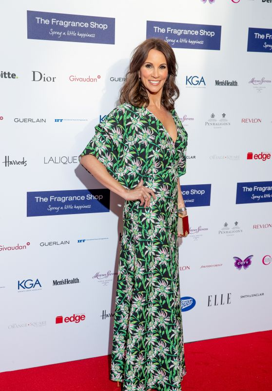 Andrea McLean - Fragrance Foundation Awards 2018 in London