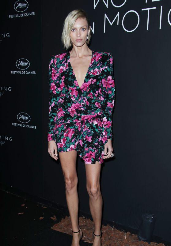 Anja Rubik – Kering Women in Motion Awards Dinner at Cannes Film Festival 2018