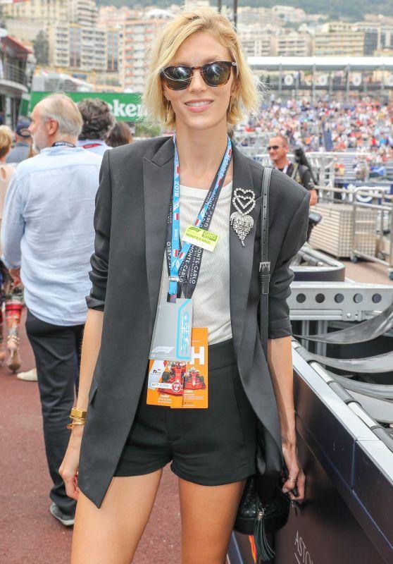 Anja Rubik - Monaco F1 Grand Prix at the Circuit de Monaco 05/27/2018
