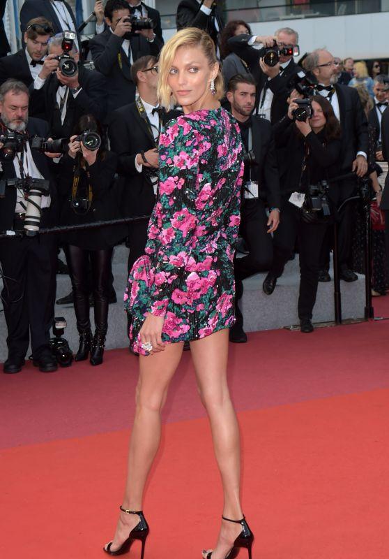 "Anja Rubik – ""Sink or Swim"" Red Carpet in Cannes"