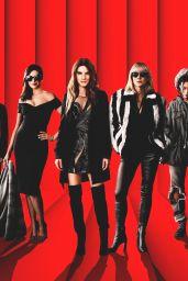 "Anne Hathaway, Cate Blanchett, Sandra Bullock, Helena Bonham Carter, Mindy Kaling, Sarah Paulson, Awkwafina and Rihanna - ""Ocean"