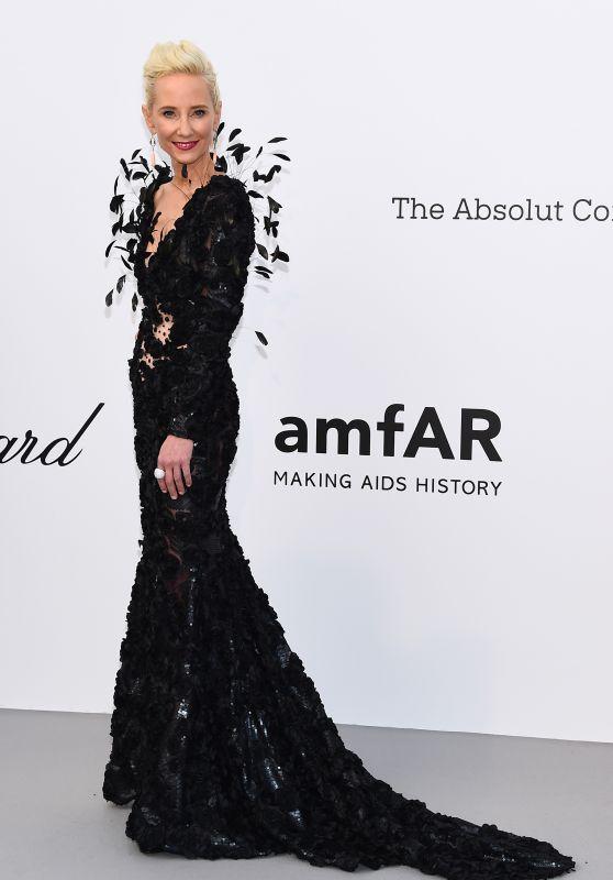 Anne Heche – amfAR's Cinema Against AIDS Gala in Cannes 05/17/2018