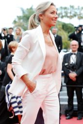 """Anne-Sophie Lapix – """"The Wild Pear Tree"""" Red Carpet in Cannes"""