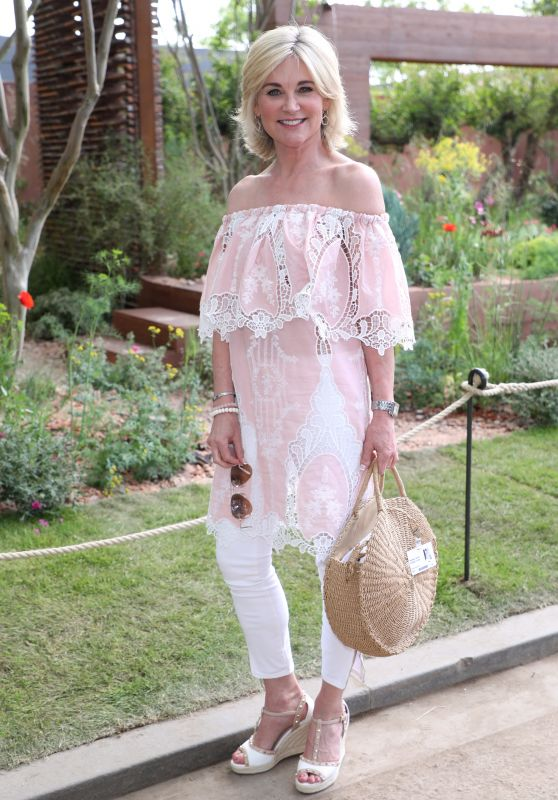Anthea Turner – Chelsea Flower Show in London 05/21/2018