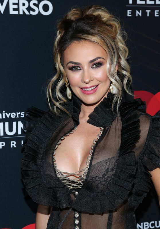 Aracely Arámbula - 2018 Telemundo Upfront in New York