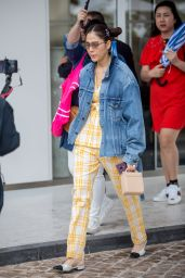 Araya A. Hargate - Leaving the Martinez Hotel in Cannes, May 2018