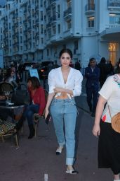 Araya Hargate - Out in Cannes 05/13/2018