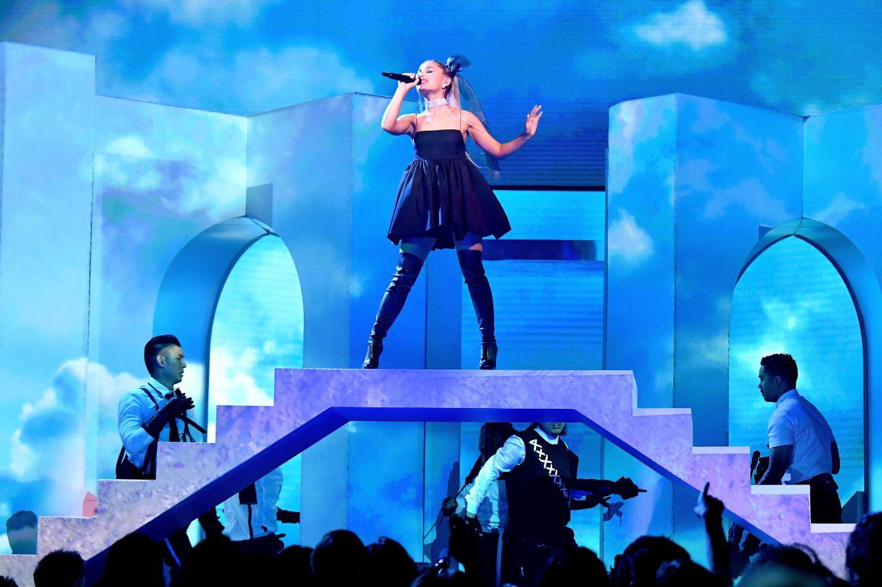 Ariana Grande Billboard Music Awards 2018 In Las Vegas
