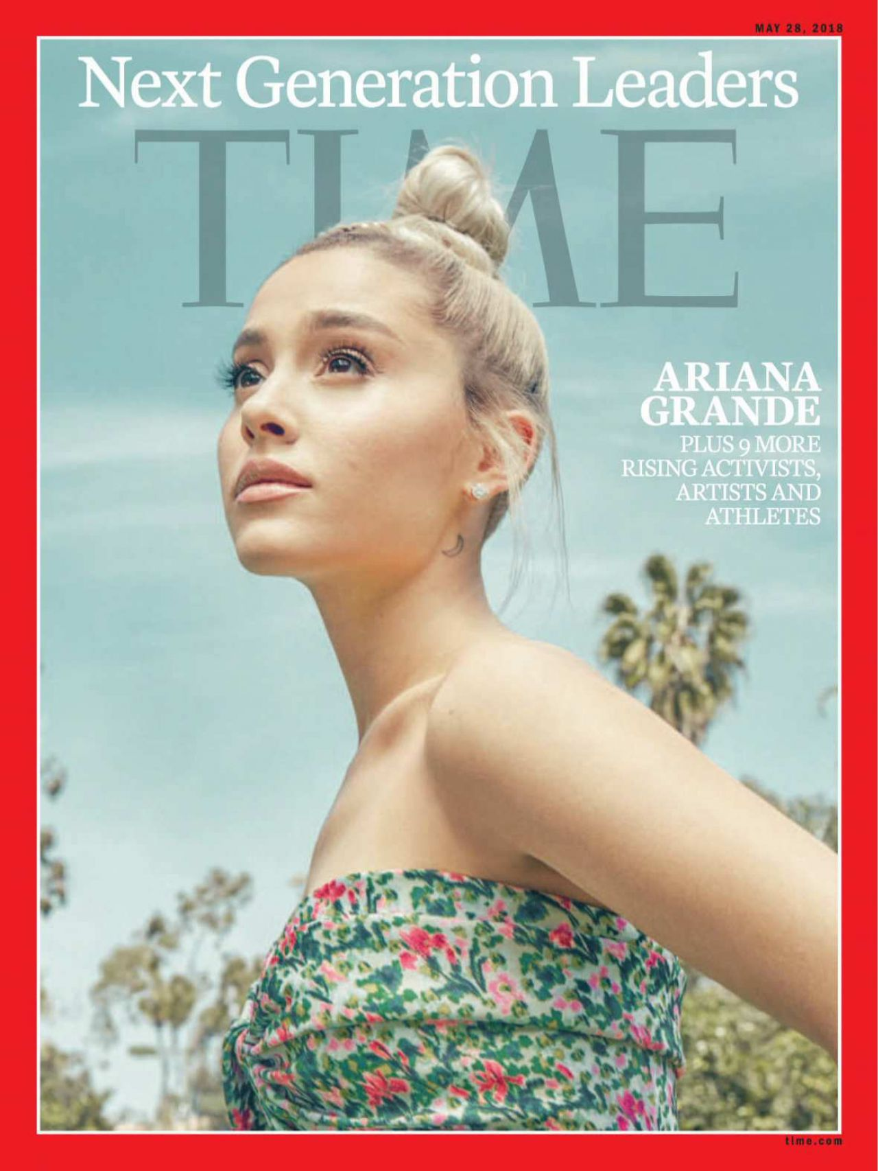 ariana grande time magazines next generation leaders