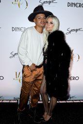 "Ashlee Simpson – Jennifer Lopez Celebrates Release of New Single ""Dinero"" in Las Vegas"