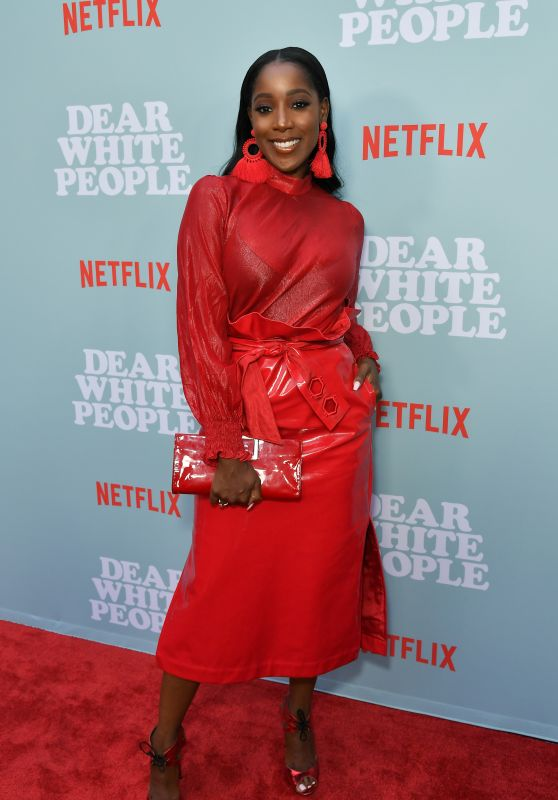 "Ashley Blaine Featherson – ""Dear White People"" TV Show Premiere in LA"