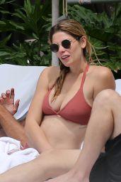Ashley Greene in Bikini at the Pool in Miami Beach, May 2018