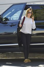 Ashley Tisdale - New Short and Blonde Hairstyle, LA 05/15/2018