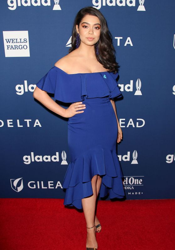 Aulii Cravalho – 2018 GLAAD Media Awards