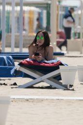 Aurora Ramazzotti at the Beach in Forte dei Marmi 05/20/2018