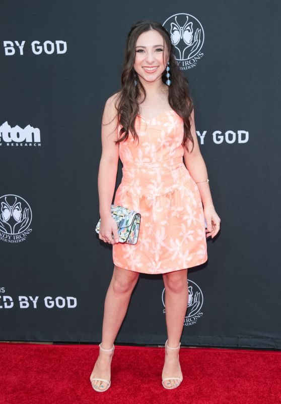 "Ava Cantrell – ""Andy Iron's Kissed By God"" World Premiere in LA"