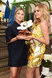 Bailee Madison and Olivia Holt - Daisy Love Fragrance Launch in Santa Monica