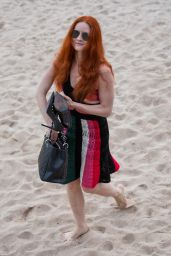 Barbara Meier at Croisette in Cannes 05/07/2018