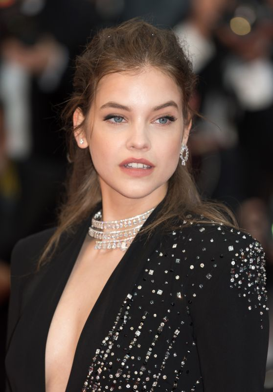 "Barbara Palvin – ""Burning"" Red Carpet in Cannes"