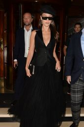 Bella Hadid Arrive at the Dior Backstage Launch Party in London 05/29/2018