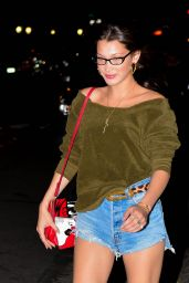 Bella Hadid at Barbuto in NYC 05/21/2018