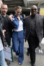 Bella Hadid at the Airport in Nice 05/08/2018
