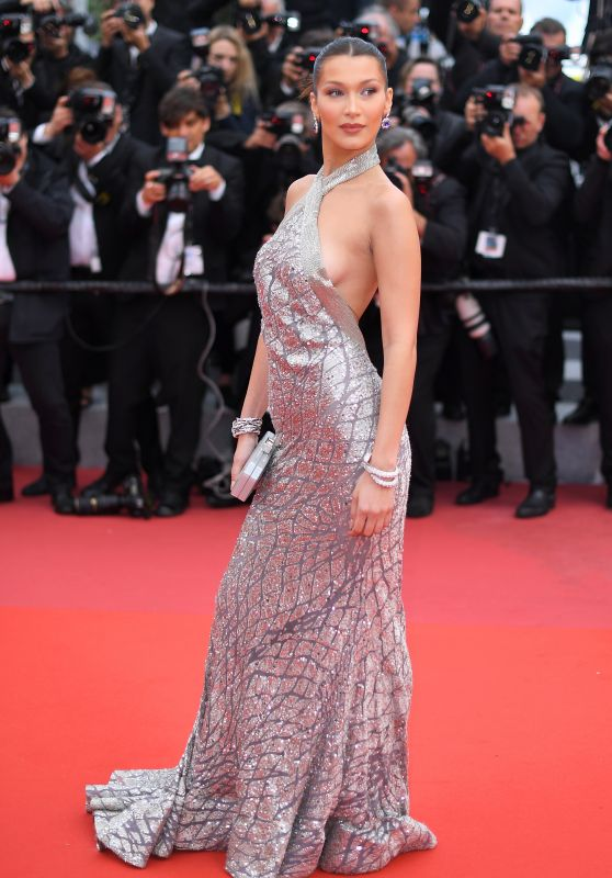 "Bella Hadid – ""BlacKkKlansman"" Red Carpet in Cannes"