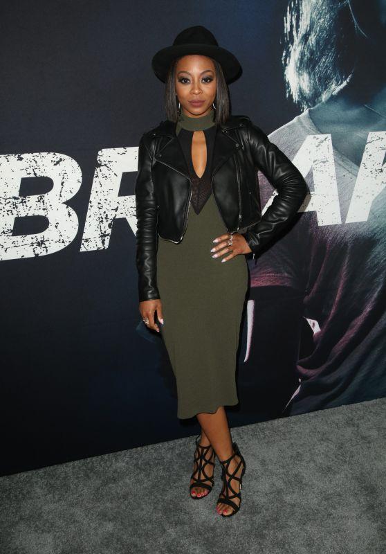 """Bresha Webb – """"Breaking In"""" Premiere in LA"""