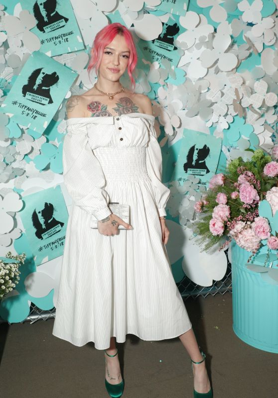 Bria Vinaite – Tiffany & Co. Jewelry Collection Launch in NY 05/03/2018