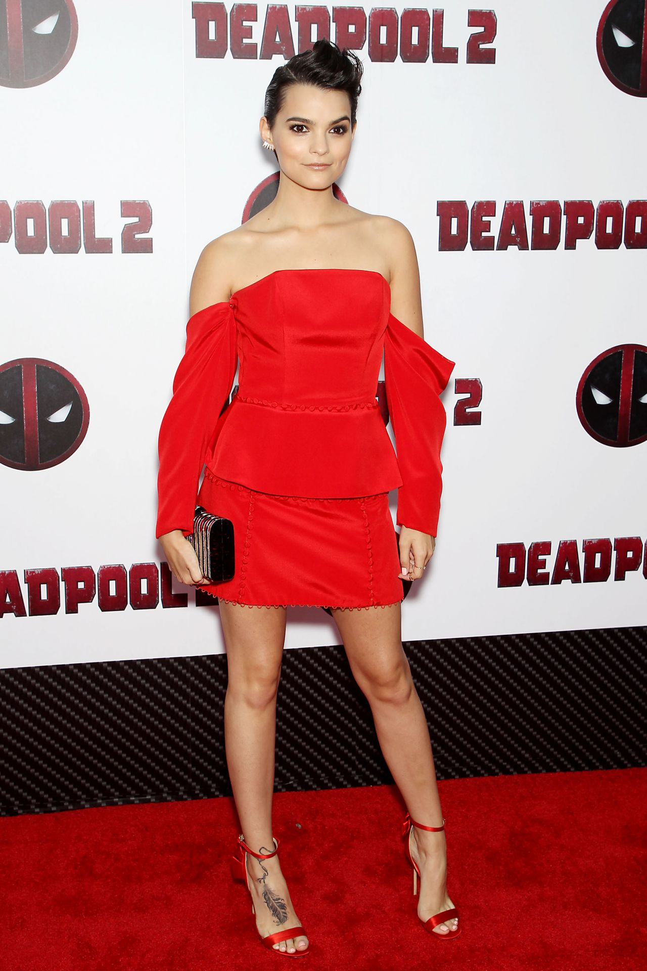 Brianna Hildebrand Deadpool 2 Special Screening In New