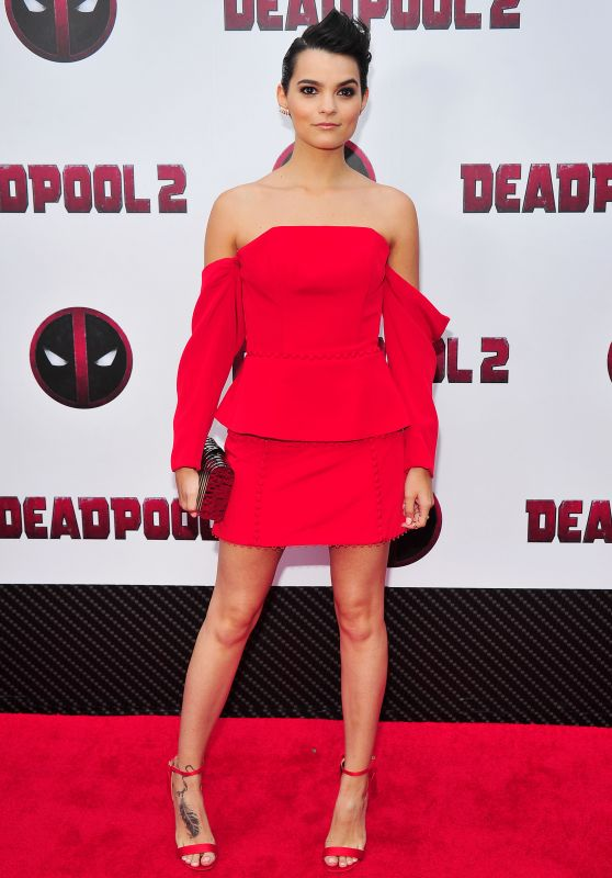 "Brianna Hildebrand – ""Deadpool 2"" Special Screening in New York"