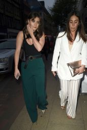 Brooke Vincent Night Out Style - Living Room in Manchester 05/12/2018