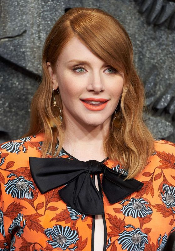 "Bryce Dallas Howard - ""Jurassic World: Fallen Kindom"" Premiere at Wizink Center in Madrid 05/21/2018"