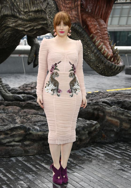 "Bryce Dallas Howard - ""Jurassic World: Fallen Kingdom"" Photocall in London"