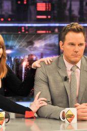 Bryce Dallas Howard - Visits the TV Show El Hormiguero in Madrid 05/21/2018
