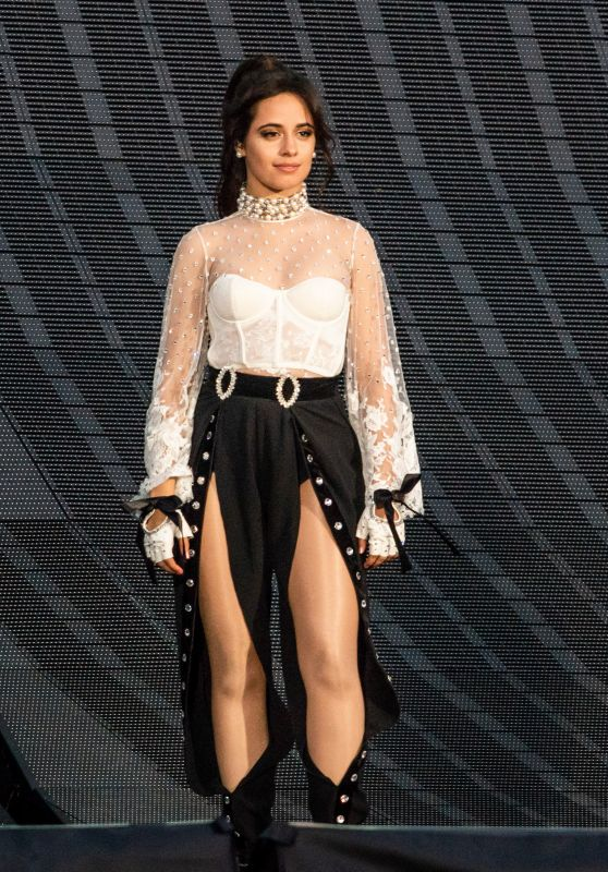 Camila Cabello - Opens for Taylor Swift at the Rose Bowl in Pasadena 05/22/2018