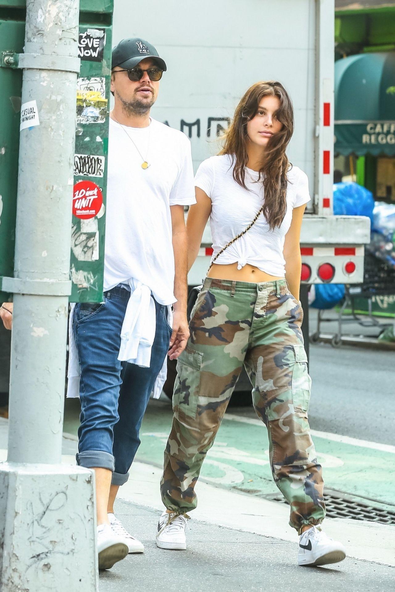 Camila Morrone And Leonardo Dicaprio West Village New
