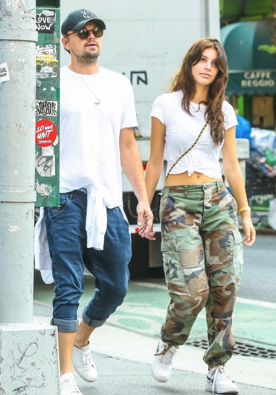 Camila Morrone and Leonardo DiCaprio - West Village, New York 05/15/2018