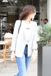 Camilla Belle at Cafe Gratitude in Los Angeles 05/18/2018